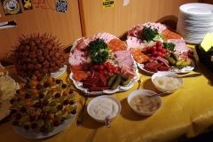 Buffet im Clubheim